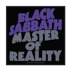 Black Sabbath - Black Sabbath Standard Patch: Master Of Reality (Retail Pack)