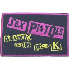 Sex Pistols - The Sex Pistols Standard Patch: Anarchy in the Pre-UK