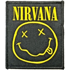 Nirvana - Nirvana Standard Patch: Smiley