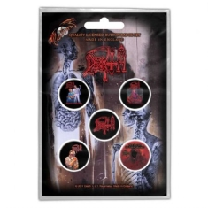 Death - BUTTON BADGE PACK: ALBUMS (RETAIL PACK)