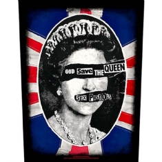 Sex Pistols - BACK PATCH: GOD SAVE THE QUEEN (LOOSE)