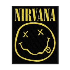 Nirvana - Standard Patch: Smiley (Loose)