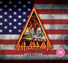 Def Leppard - Hits Vegas Live 2019 (Cd+Blu-Ray)