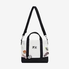 BTS - FILA X BTS DNA Tote Bag (White) in the group OTHER / Merchandise / Upcoming items at Bengans Skivbutik AB (3903108)