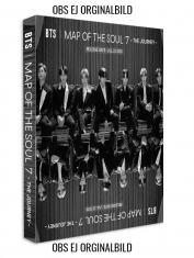 BTS - MAP OF THE SOUL : 7 - THE JOURNEY Set A (A,C,D and Normal CD)