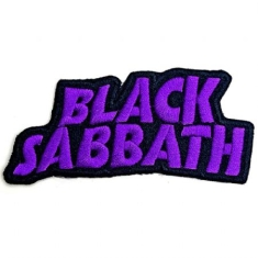 Black Sabbath - Black Sabbath Standard PAtch : Cut-Out Wavy Logo