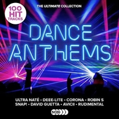 Various artists - Ultimate Dance Anthems (5-CD)