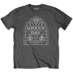 Green Day - Green Day Unisex Tee : Stained Glass Arch