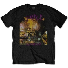 Prince - Prince Unisex Tee : Sign O The Times Album