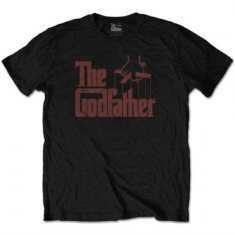 The Godfather - The Godfather Unisex Tee : Logo Brown