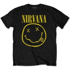 Nirvana - Yellow Smiley Tee