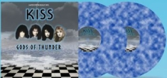 Kiss - Gods Of Thunder (Blue/White) 10""