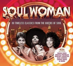 Various artists - Soul Woman 4CD