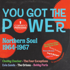 Various artists - You Got The Power: Cameo Parkway Northern Soul (1964-1967) (RSD Coloured Vinyl)