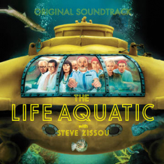 Various artists - Life Aquatic With Steve Zissou Ost (2Lp/Cerulean Blue Vinyl) (Rsd)