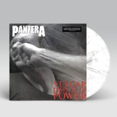 Pantera - Vulgar Display Of Power (MARBLED BLACK/GREY VINYL)