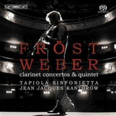 Weber - Fröst Plays Weber-clarinet Con