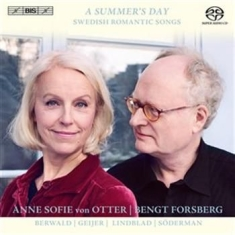 Anne Sofie Von Otter - A Summers Day - Swedish Romantic So