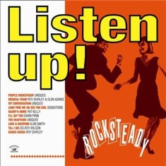 Blandade Artister - Listen Up! Rocksteady
