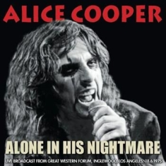 Cooper Alice - Alone In His Nightmare - Live  Broa