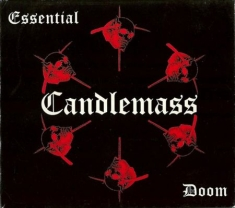 Candlemass - Essential Doom (Best Of) Cd + Dvd