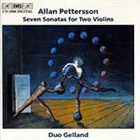 Pettersson, Allan - 7 Sonatas For Two Violins