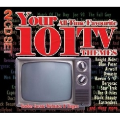 Blandade Artister - 101 All Time Favourite Tv Themes