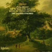 Weber - Piano Quartet, Trio For Flute,