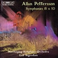 Pettersson, Allan - Symphony 8 & 10 in the group CD / Klassiskt at Bengans Skivbutik AB (522467)