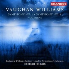 Vaughan Williams - Symphony Nos 6 & 8 / Nocturne