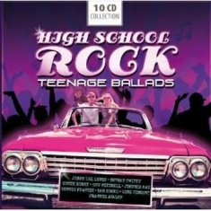Blandade Artister - Highschool Rock Teenage Ballads
