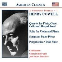 Cowell, Henry - Piano Chamber & Vocal Works 1