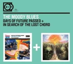 Moody Blues - 2For1 Days Of.../In Search Of...