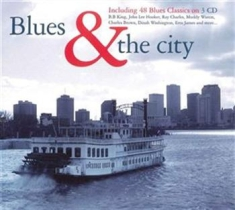 Blandade Artister - Blues & The City