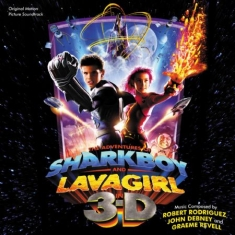 Filmmusik - Adventures Of Shark Boy And Lava Gi