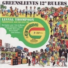 "Linval Thompson - Greensleeves 12"" Rulers"