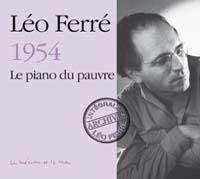 Ferre, Leo - Piano Du Pauvre, Le in the group CD / Dansband/ Schlager at Bengans Skivbutik AB (613642)