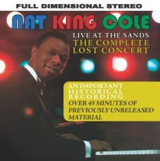 Cole Nat King - Live At The Sands: The Complete Los