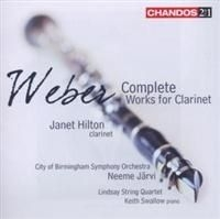 Weber - Complete Clarinet Works in the group CD / Klassiskt at Bengans Skivbutik AB (636425)