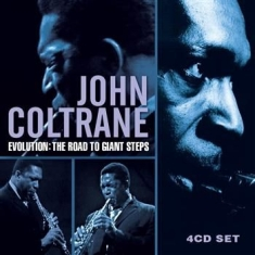 Coltrane John - Evolution Road To Giant Steps (4 Cd