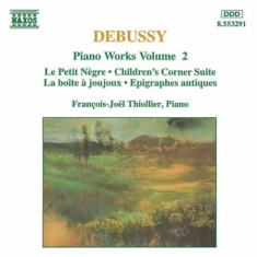 Debussy, Claude - Piano Works Vol 2