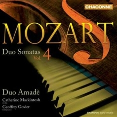 Mozart - Duo Sonatas Vol 4