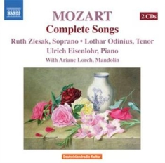 Mozart, Wolfgang Amadeus - Complete Songs