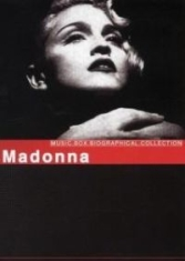 Madonna - Music Box Biographical Collection in the group  at Bengans Skivbutik AB (811960)