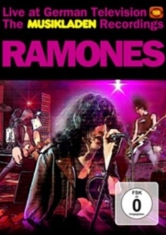 Ramones - Live At German Tv (Dvd+Cd) Musiklad