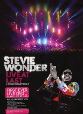 Stevie Wonder - Live At Last - Digi