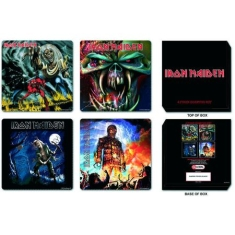 Iron Maiden - 4 pieces coaster set