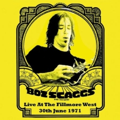 Scaggs Boz - Live At The Fillmore West, 1971