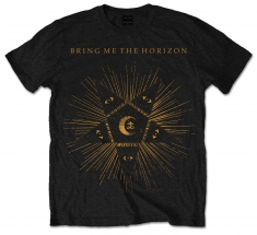 BMTH Black Star Black T - Shirt