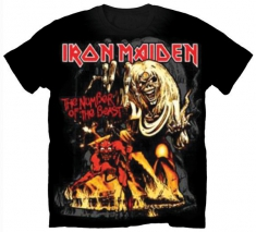 Iron Maiden Number of the Beast Graphic Mens TS